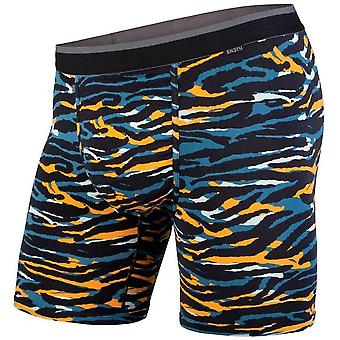 BN3TH klassieke Boxer kort-Tiger Teal oranje