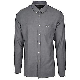 Lacoste vanlig montering langermet Navy shirt