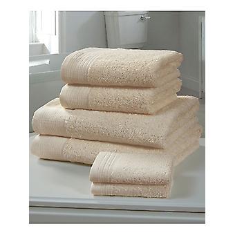 Chatsworth 4 Pezzo Asciugamano Biscotto - 2 Asciugamani per Mano, 2 Asciugamani da Bagno