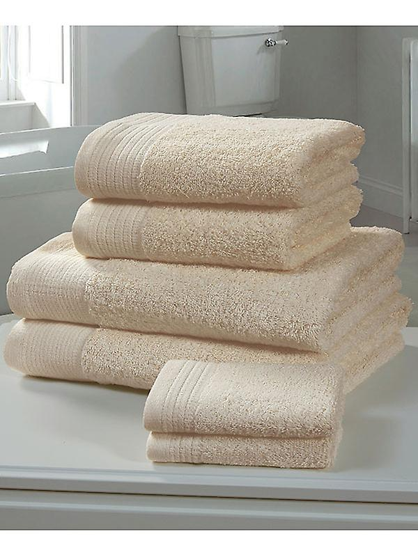 Chatsworth 4 Piece Towel Bale Biscuit - 2 Hand Towels, 2 Bath Towels