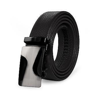 Allthemen Men-apos;s Business Leather Belt Automatic Buckle Fashion Belt 4 Couleurs