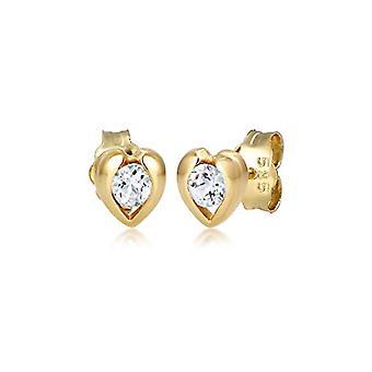Elli Premium Gelbgold Perno Ohrringe 0309840417