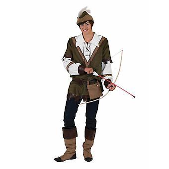 Robin Hood mäns kostym Hunter Forest Runner Vagabund mäns kostym