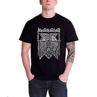 Hawkwind T Shirt Doremi Glitter Band Logo Official Mens New Black