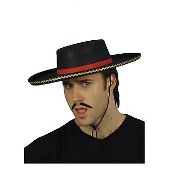 Cappello spagnolo Mens costume accessorio