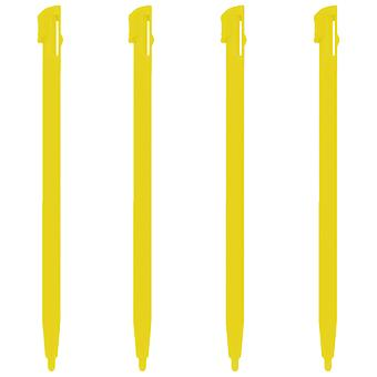 Slot in plastic stylus touch screen pen set for pokemon yellow edition nintendo 2ds - 4 pack yellow