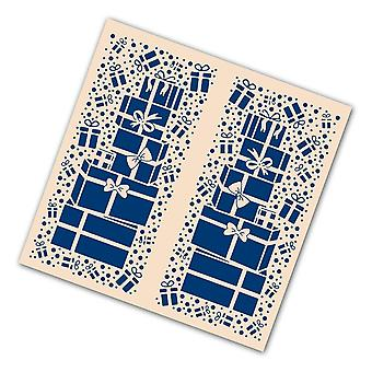 Tattered Lace Christmas Gifts Gatefold, Transparent