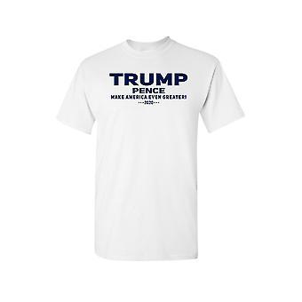 Trump unisexe Pence chemise à manches courtes de 2020.