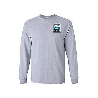 Menn ' s Ford bygget tøff Pocket print langermet skjorte