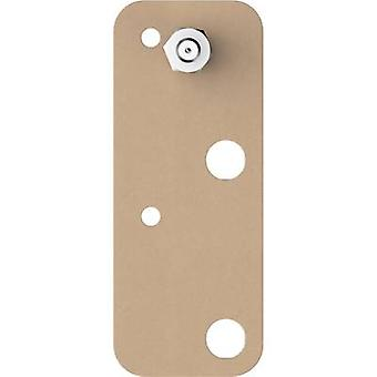 tesa Tesa ® Adhesive screw square Beige Content: 2 pc(s)