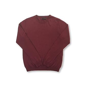 Maimo Rebecchi knitwear in Bordeaux red