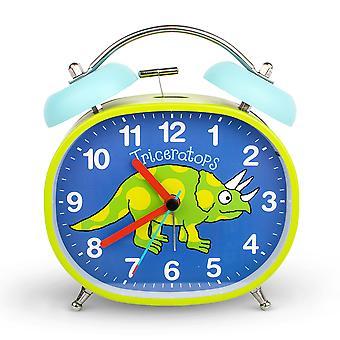 Tyrrell Katz dinosaurus ontwerp kinderen ' s alarm klok · Twin Bell · Silent Tick