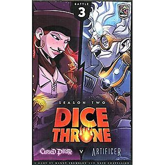 Dice Throne Season Two Box 3 Cursed Pirate vs. Artificer