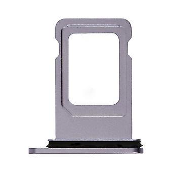 For Apple iPhone 11 SIM-kort holder Kortskuff lilla lilla SD-kort reservedel
