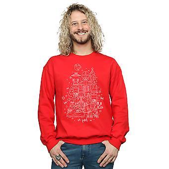 Star Wars Men's Empire Christmas Sweatshirt