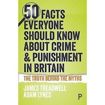 50 Facts Everyone Should Know About Crime and Punishment in by Adam Lynes