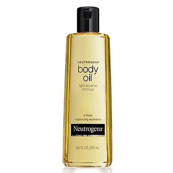 Neutrogena body oil, light sesame formula, original, 8.5 oz