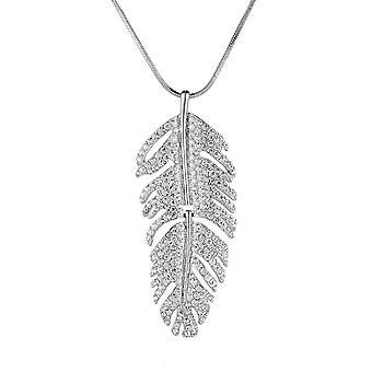 Secret Santa gave, Christmas nuværende halskæde, besked kort vedhæng halskæde-sølv