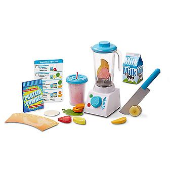 Melissa & Doug Smoothie Maker Mixer Set mit 24 Stück