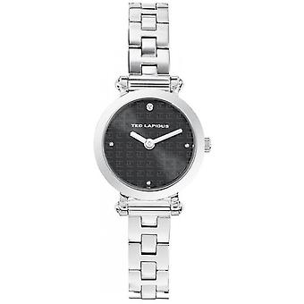 Ted Lapidus SIGNATURE A0680INPX Watch - Women's Silver and Round Watch