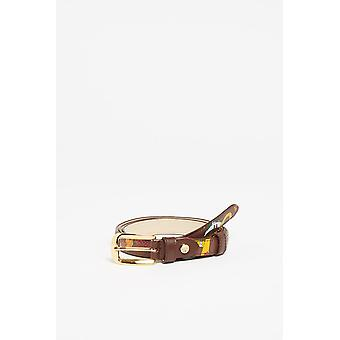 Maroon Belt Piero Guidi Women