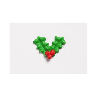 Culpitt Holly og Berry Pipings-bulk pakket