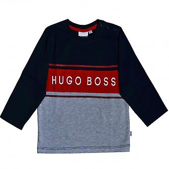 Hugo Boss Boys Hugo Boss Infant Boy's Langarm T-Shirt