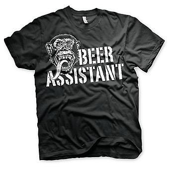 Gas Monkey Garage Bière Assistant Official T-Shirt