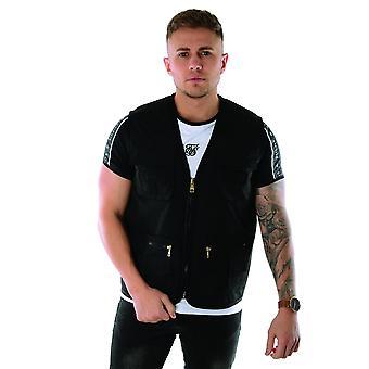 Glorious Gangsta | Solomon Utility Lightweight Vest - Black