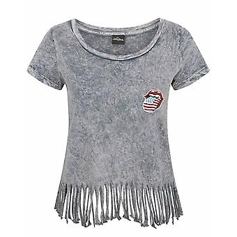 Rolling Stones Kvinnor & s Fringe T-shirt