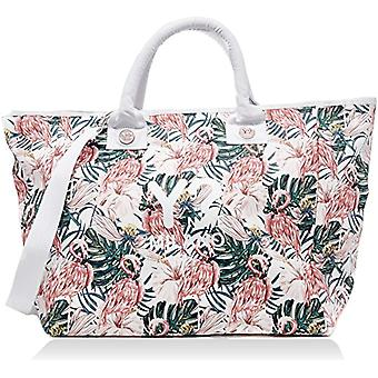 YNOT Bc002/pe18 Women's beach bag (Multicolor Flamingos) 21x38x62cm (W x H x L)