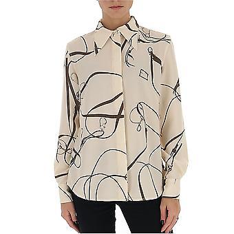 Victoria Beckham 1120wsh000712c Femme-apos;s Chemise en polyester blanc