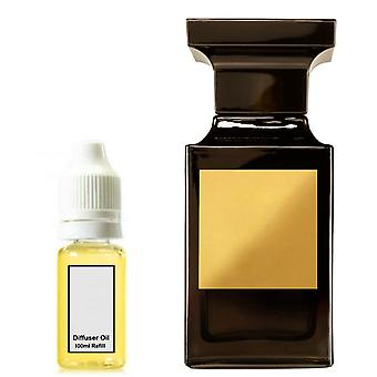 Tom Ford Tuscan Leather For Him Inspired Fragrance 100ml Refill Essential Diffuser Oil Burner Scent Diffuser