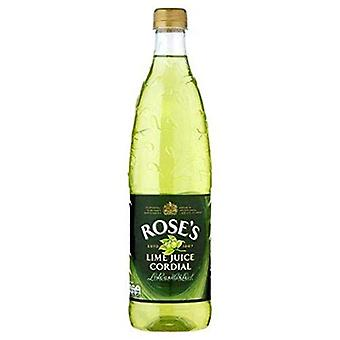 Roses Lime Cordial -( 739 Ml X 12 Bouteilles )