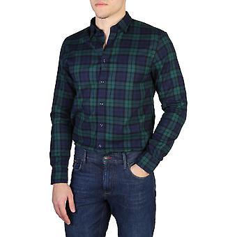 Tommy Hilfiger Original Men All Year Shirt - Green Color 41919