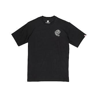 T-shirt Element Frisco Short Sleeve en Noir Flint