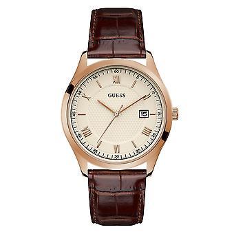 Gissa GW0065G1 Män's Element White Dial Armbandsur