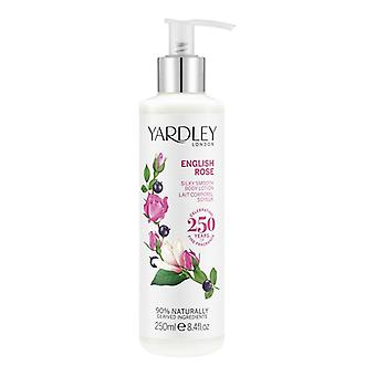 Yardley London Body Lotion - English Rose - elegant floral fragrance with rose water 250 ml