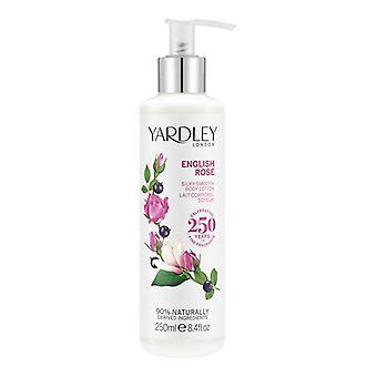 Yardley London Body Lotion - English Rose - elegant blommig doft med rosenvatten 250 ml
