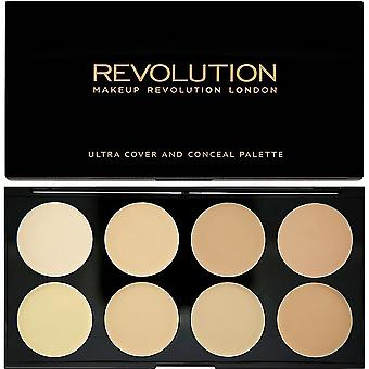 Makeup Revolution Ultra Cover and Conceal Palette Light