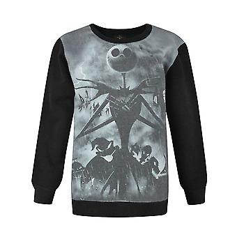 Nightmare Before Christmas Sublimation Boy's Sweatshirt