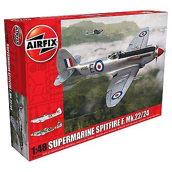 Airfix A06101A Supermarine Spitfire Mk22/24 1:48 Model Kit