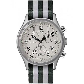 Timex mens watch MK1 aluminum chronograph 40 mm TW2R81300