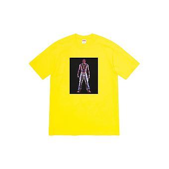 Supreme Tupac Hologramm Tee gelb - Kleidung