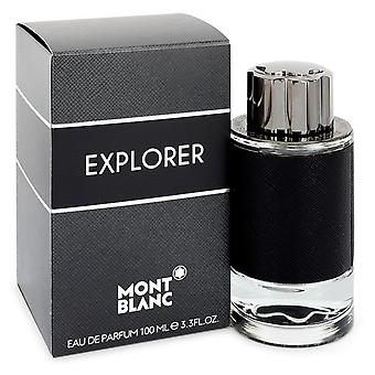 Montblanc Explorer de Mont Blanc EDP Spray 100ml