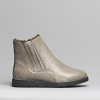 Dr Keller Shania Ladies Ankle Boots Grey