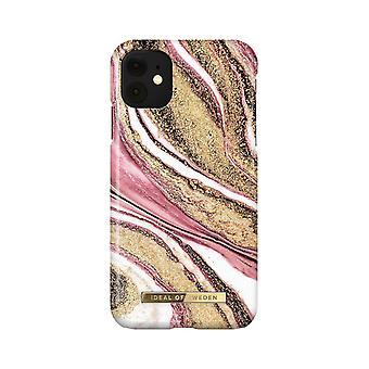 iDeal Of Sweden iPhone 11 / XR shell - Cosmic Pink Swirl