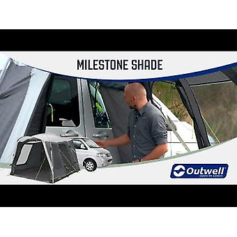 Outwell Milestone Shade 2 Man Drive Away Campervan Awning Tent