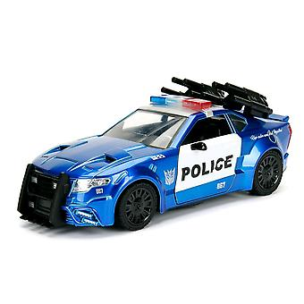 Transformers Ford Mustang Barricade 1:24 Hollywood Ride