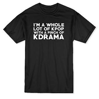 Ich bin eine ganze Reihe von Kpop mit einer Prise KDrama Herren T-shirt